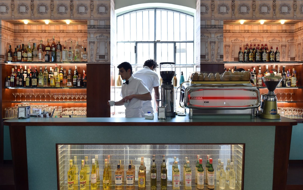 Wes Anderson x Prada | Bar Luce