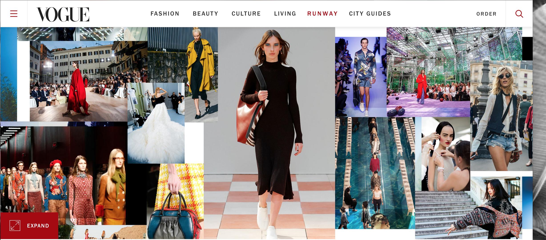 Vogue Runway: Nuevo Destino de Moda