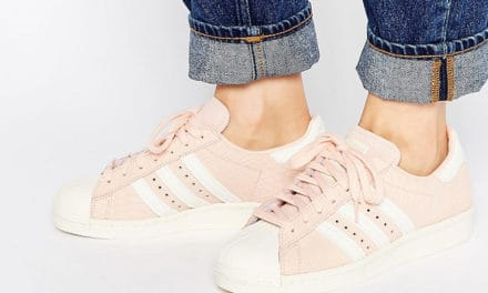 Trend Alert: Pink Sneakers