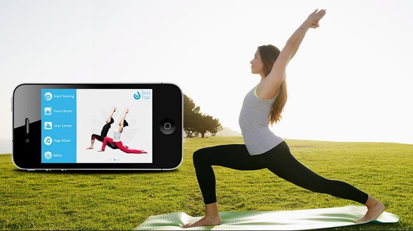 Yoga Apps on the Go
