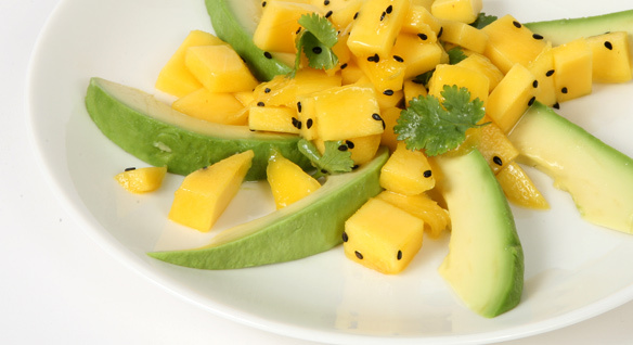 Summer Recipe: Mango & Aguacate