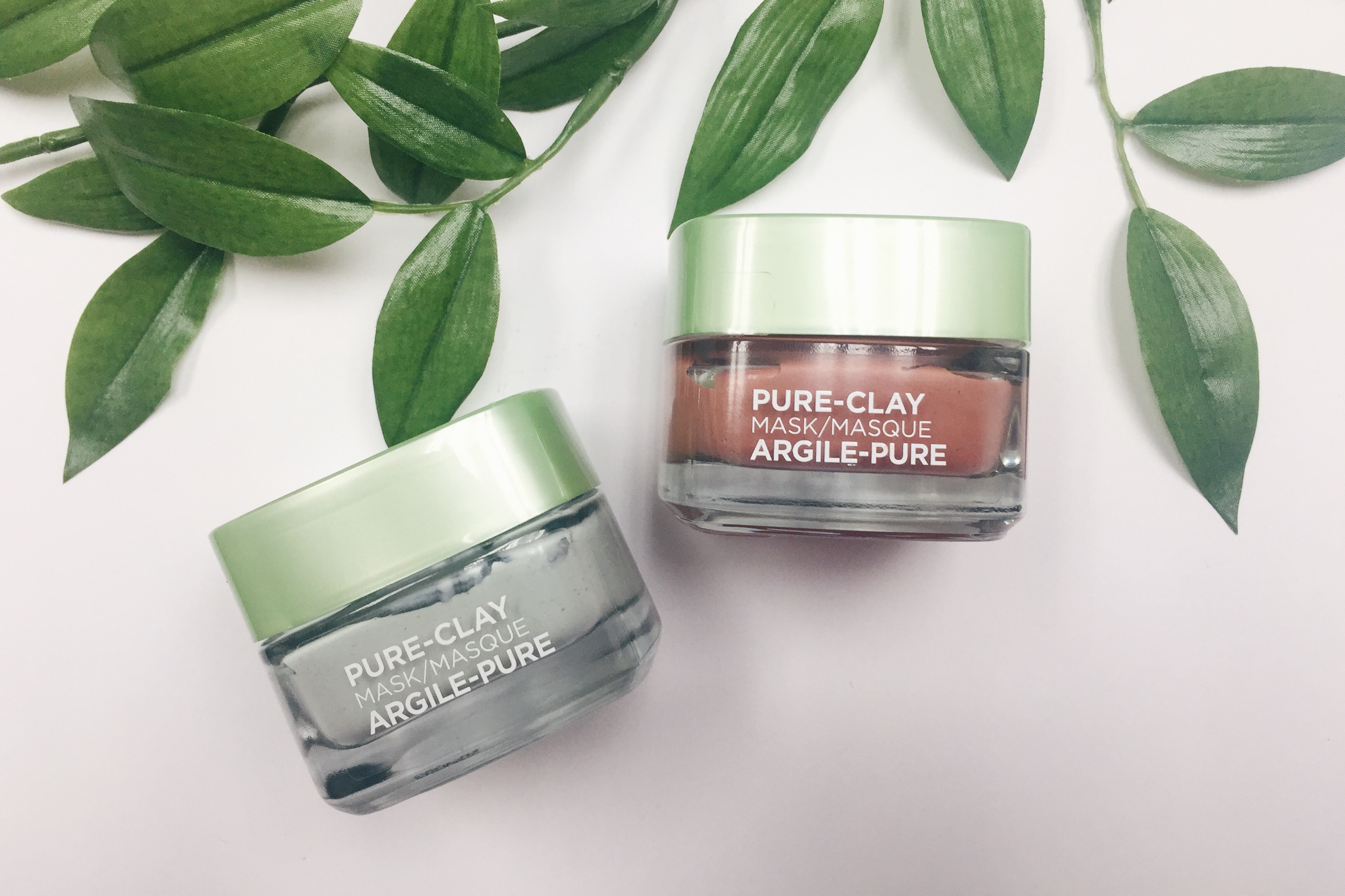 First Impressions: L'Oréal Pure-Clay Face Masks