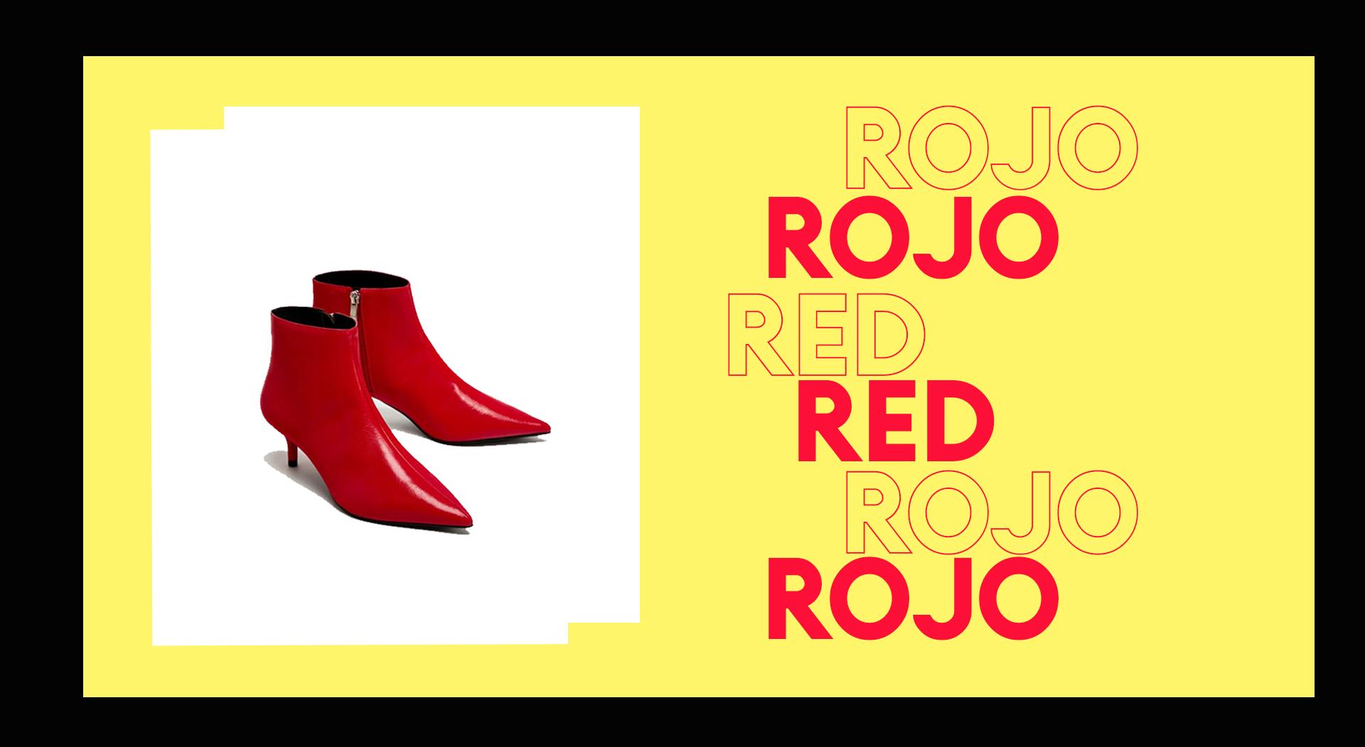 ¿Rojo es el nuevo negro? Diferentes climas, un mismo 'trend'