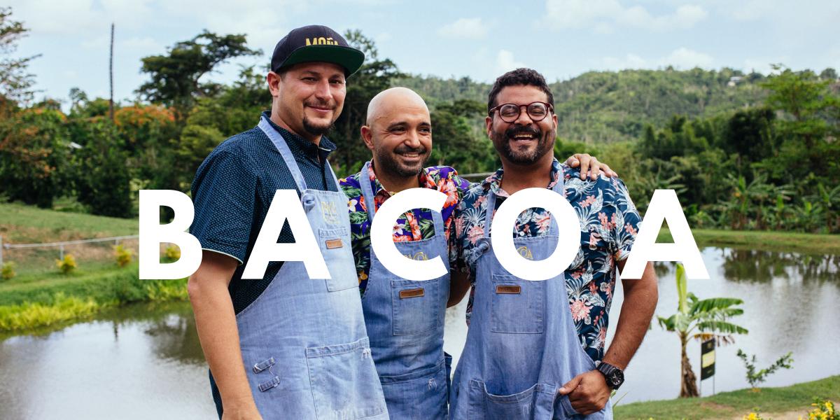 Tres chefs reconocidos, una finca gastronómica y un fogón
