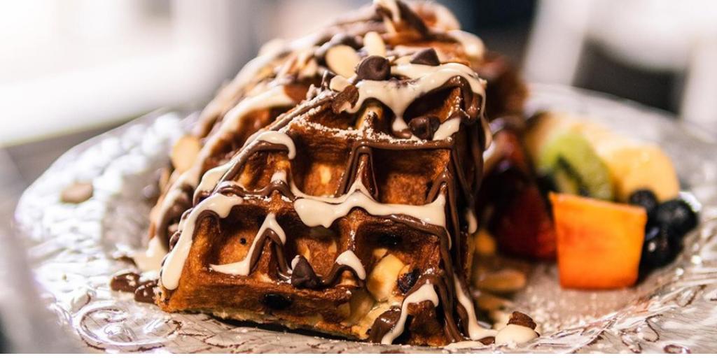 Siempre puesta para el brunch: 6 lugares para comer waffles