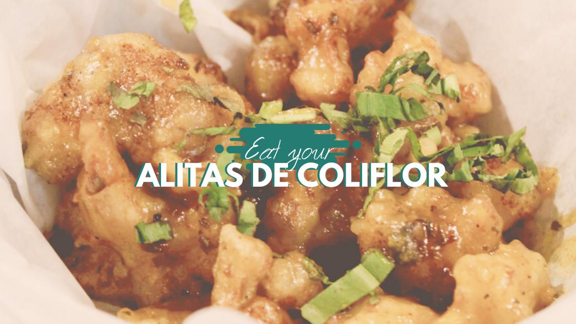 ¡Alitas de Coliflor! Encuéntralas en estos 6 restaurantes