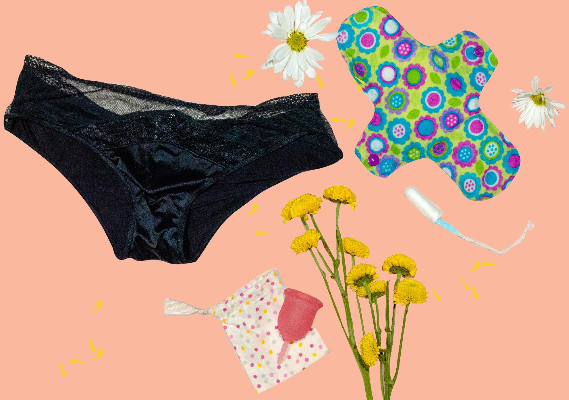 ¿Menstruación eco-amigable y saludable? Sí se puede