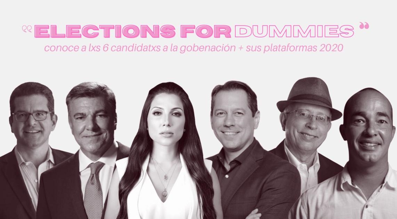 ¿Ya sabes por quién votar? Conoce los 6 candidatxs a gobernación