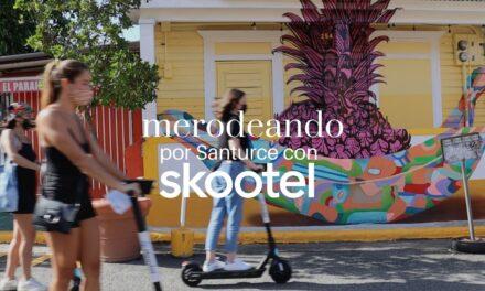 La ruta perfecta en 'skootel' por Santurce